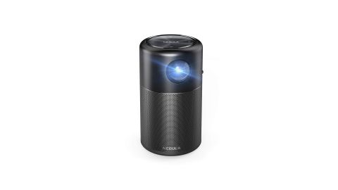 """<a href=""""https://amzn.to/2Ime6YT"""" target=""""_blank"""" target=""""_blank"""">Anker's Nebula Capsule</a> will let you bring the TV anywhere -- literally anywhere, as it's a portable projector. And since it's running Android OS, you can access plenty of streaming options. ($299.99; <a href=""""https://amzn.to/2Ime6YT"""" target=""""_blank"""" target=""""_blank"""">amazon.com</a>)"""
