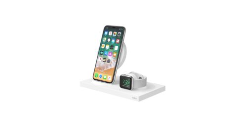 """If you're shopping for an Apple fan who already has an iPhone, Apple Watch or iPad, then the <a href=""""http://redirect.viglink.com?type=bk&opt=false&u=https%3A%2F%2Fwww.belkin.com%2Fus%2Fp%2FP-F8J234%2F&key=ed7eb6546c416eb284920d7a87c6d8c4"""" target=""""_blank"""" target=""""_blank"""">BoostUP Charging Dock from Belkin</a> is a great option. It allows you to wirelessly charge your iPhone and Apple Watch with built-in solutions, and packs in a USB port to charge an additional item. ($159.99; <a href=""""http://redirect.viglink.com?type=bk&opt=false&u=https%3A%2F%2Fwww.belkin.com%2Fus%2Fp%2FP-F8J234%2F&key=ed7eb6546c416eb284920d7a87c6d8c4"""" target=""""_blank"""" target=""""_blank"""">belkin.com</a>)"""