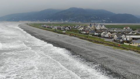 The village of Fairbourne on the Welsh coast faces an existential crisis because of rising sea levels.