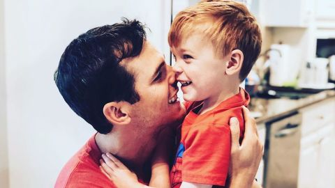 """Granger Smith posted this photo of him and his son River, after the announcement that River had died in a """"tragic accident."""""""