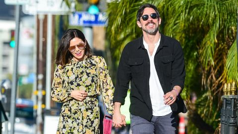 """Jenna Dewan and boyfriend Steve Kazee <a href=""""https://www.cnn.com/2019/09/24/entertainment/jenna-dewan-steve-kazee-baby-trnd/index.html"""" target=""""_blank"""">announced in September </a>that they're expecting their first child together. Dewan shares a daughter, Everly, with ex-husband Channing Tatum."""