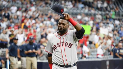 David Ortiz, seen here in 2016, was shot Sunday at a Santo Domingo club, police say.