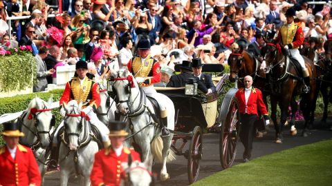 Royal Ascot is a byword for pomp, pageantry, glamor and elegance.