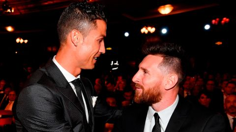 Lionel Messi (right) just edged out Cristiano Ronaldo (left) as Forbes' highest earning athlete in sport.