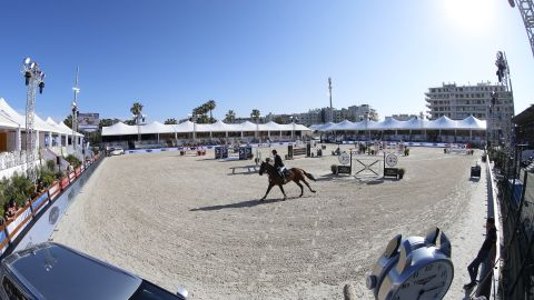 """<strong>Cannes:</strong> The """"City of Stars"""" on the French Riviera hosted round seven of the Longines Global Champions Tour and Global Champions League."""