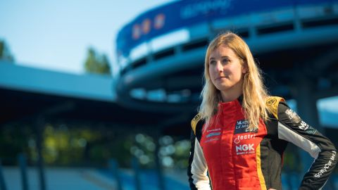 Charlie Martin is aiming to become the first transgender driver to race at Le Mans.