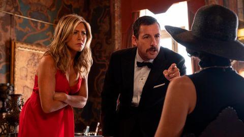 Jennifer Aniston, Adam Sandler in 'Murder Mystery'