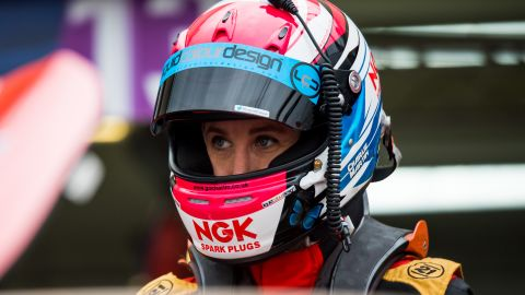 """Martin says the motorsport community has in general been """"incredibly supportive."""""""