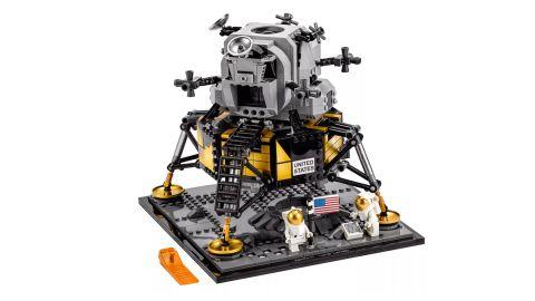 "Celebrate the first moon landing with this 1,087 piece <a href=""http://redirect.viglink.com?type=bk&opt=false&u=https%3A%2F%2Fshop.lego.com%2Fen-US%2Fproduct%2FNASA-Apollo-11-Lunar-Lander-10266&key=ed7eb6546c416eb284920d7a87c6d8c4"" target=""_blank"" target=""_blank"">LEGO Apollo 11 Lunar Landing set</a>. ($99.99; <a href=""http://redirect.viglink.com?type=bk&opt=false&u=https%3A%2F%2Fshop.lego.com%2Fen-US%2Fproduct%2FNASA-Apollo-11-Lunar-Lander-10266&key=ed7eb6546c416eb284920d7a87c6d8c4"" target=""_blank"" target=""_blank"">shop.lego.com</a>)"