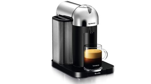 """Give dad the gift of a fresh brewed coffee or espresso with the <a href=""""https://amzn.to/31vQt8J"""" target=""""_blank"""" target=""""_blank"""">Nespresso Vertuo Machine</a>. ($125.99, originally $199.95; <a href=""""https://amzn.to/31vQt8J"""" target=""""_blank"""" target=""""_blank"""">amazon.com</a>)"""