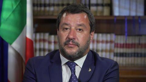Matteo Salvini Amanpour intv