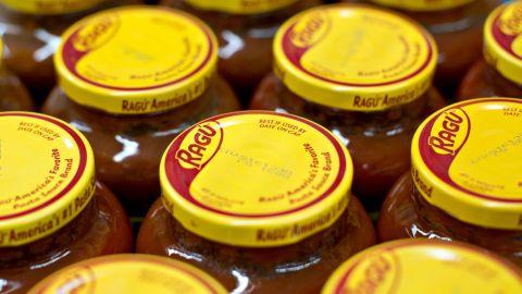 Mizkan America is recalling several styles of Ragú pasta sauce, it says.