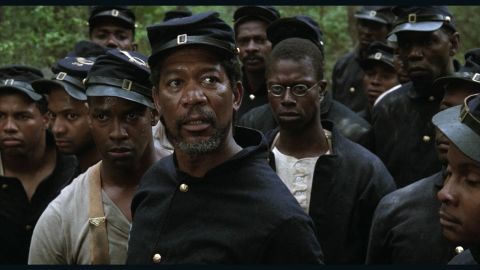 """<strong>""""Glory"""" </strong>For many, this 1989 drama from Edward and Richard Zwick was like an incredibly well-produced history lesson, says star Morgan Freeman. """"People had no idea that there were black soldiers fighting for the Union in the Civil War,"""" Freeman says. And if viewers didn't yet know what a powerhouse Denzel Washington was, they learned that with this film, too; it led to his first Oscar. <strong>Where to watch: </strong>Showtime;<strong> </strong>Amazon Prime Video (rent/buy); iTunes (rent/buy); Google Play (rent/buy)"""