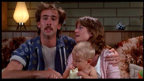 """<strong>""""Raising Arizona""""</strong> The Coen brothers were only on their second film when they crafted this criminally funny comedy about an oddball couple -- played by Nicolas Cage and Holly Hunter -- who turn to a desperate act to start a family. The Coens """"have the same equipment and the same playing field (as other filmmakers), and to take that and to make something fully aesthetically different than anything you've ever seen is a big deal,"""" actor Bill Hader says. """"That's a triumph."""" <strong>Where to watch: </strong>Starz; Google Play (rent/buy); Amazon Prime Video (rent/buy)"""