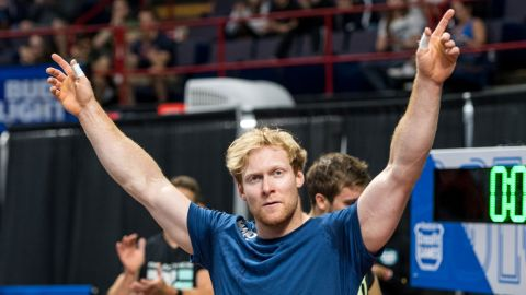 Vellner will continue to work as a chiropractor and balance his CrossFit career as well.