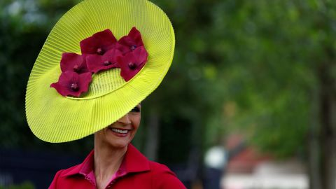 The event features five days of world-class horse racing and high fashion.