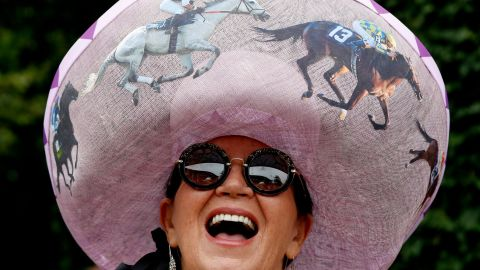 Hats are an essential Royal Ascot accessory.