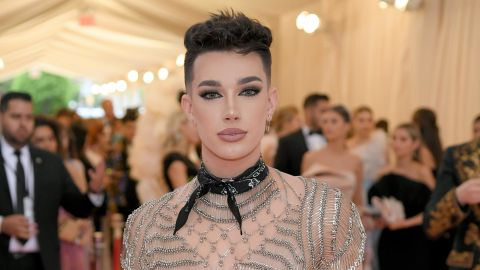 Social media star James Charles attends the 2019 Met Gala in May in New York.