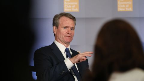 Bank of America CEO Brian Moynihan suggested the inverted yeld curve may not be a reliable recession indicator this time.