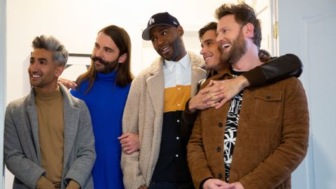 """<strong>""""Queer Eye"""" Season 4: </strong>The Fab Five are back in Kansas City, Missouri. Join Antoni, Bobby, Jonathan, Karamo and Tan for a new group of inspirational heroes, jaw-dropping makeovers and tons of happy tears! <strong>(Netflix) </strong>"""
