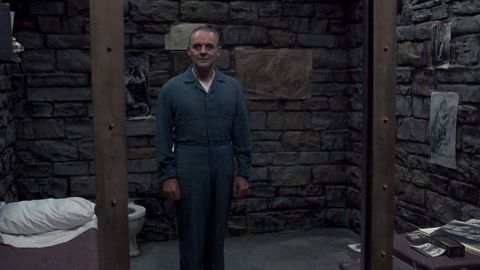 """<strong>""""The Silence of the Lambs""""</strong>: This film about an FBI agent who enlists the help of a brilliant and prolific serial killer, Dr. Hannibal Lecter, in tracking one of his own kind won stars Jodi Foster and Sir Anthony Hopkins Academy Awards. <strong>(Hulu)</strong>"""
