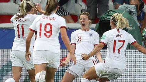 England's forward Ellen White scored six goals at the Women's World Cup.