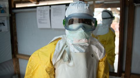 This Guinean doctor is fighting his third Ebola outbreak. Despite all the barriers both medical and physical, he says they have to treat patients with humanity.