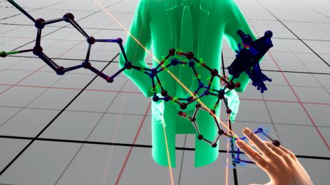 Scientists will be able to reach out and touch the molecules virtually