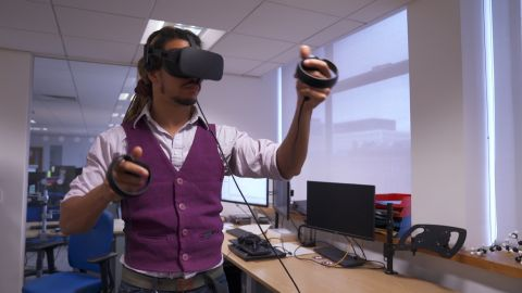 The VR tool could be used by scientists in different locations at the same time