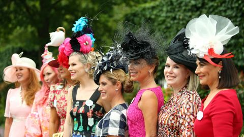 Ladies' Day at Royal Ascot is when the extra special outfits are on display.