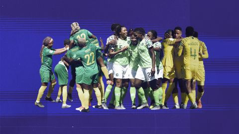 The African teams represented at the 2019 FIFA Women's World Cup in France.
