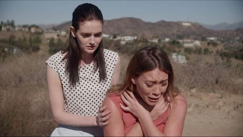 """<strong>""""The Haunting of Sharon Tate""""</strong>: Hilary Duff stars as actress Sharon Tate in this thriller based on one of Hollywood's most chilling murder cases. In it, Tate has terrifying premonitions that are brought to life by Charles Manson and his cult. <strong>(Amazon Prime) </strong>"""