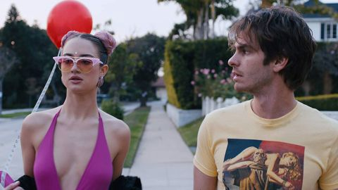 """<strong>""""Under the Silver Lake""""</strong>: A man tries to find the parties responsible for his beautiful neighbor's disappearance, unraveling a string of crimes, murders and bizarre coincidences in his East L.A. neighborhood. <strong>(Amazon Prime)</strong>"""