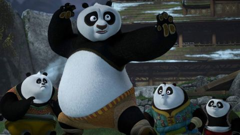 """<strong>""""Kung Fu Panda: The Paws of Destiny 1B""""</strong>: Now famously known as the Four Constellations the panda kids are summoned by the Emperor to the Forbidden City, making Po fear the kids might not need his teachings anymore in this animated series. <strong>(Amazon Prime) </strong>"""