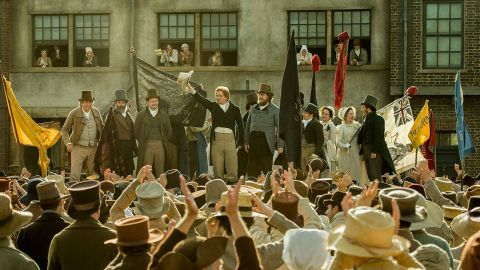 """<strong>""""Peterloo""""</strong>: Internationally acclaimed and Oscar-nominated filmmaker Mike Leigh portrays one of the bloodiest episodes in British history, the infamous Peterloo Massacre of 1819, where government-backed cavalry charged into a peaceful crowd of over 60,000 that gathered in Manchester, England to demand democratic reform. <strong>(Amazon Prime) </strong>"""