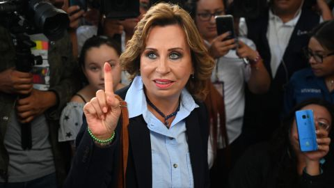Guatemala's former First Lady Sandra Torres won the first round of presidential elections this month.