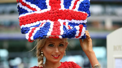 Spectacular hats are very much in vogue at Royal Ascot.