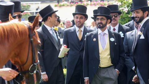 Sheikh Mohammed bin Rashid Al Maktoum is one of the leading figures in horse racing.