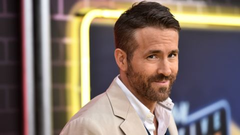 """Ryan Reynolds attends the premiere of """"Pokemon Detective Pikachu"""" at Military Island in Times Square last month in New York City."""