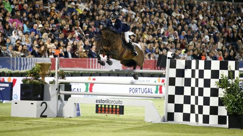 <strong>Cascais:</strong> Switzerland's Martin Fuchs clinched double victory by winning both the Longines Global Champions Tour event and partnering Ben Maher to triumph in the Global Champions League for London Knights on the Portuguese coast.