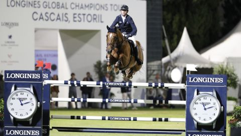 Britain's Maher, the defending LGCT overall champion, rode his Explosion W to second in the individual Grand Prix in Cascais.