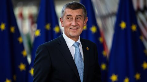 BRUSSELS, BELGIUM - JUNE 28: Czech Republic's Prime Minister Andrej Babis arrives at the Council of the European Union on the first day of the European Council leaders' summit on June 28, 2018 in Brussels, Belgium. The European Council is meeting for two days to discuss issues related to Brexit and immigration. (Photo by Jack Taylor/Getty Images)