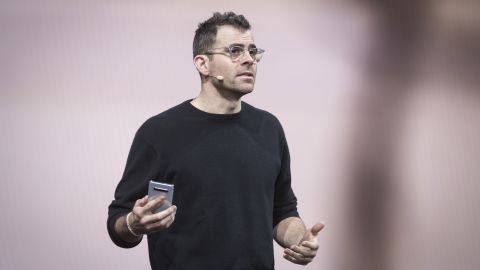 Adam Mosseri speaks during the Samsung Electronics Co. Unpacked launch event in San Francisco, California.