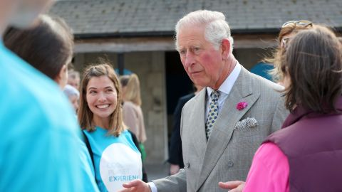 Prince Charles meets climate action volunteers on May 20, 2019.