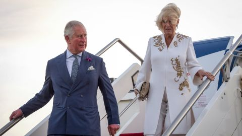 Most overseas visits were carried out by Prince Charles and his wife Camilla, the Duchess of Cornwall.
