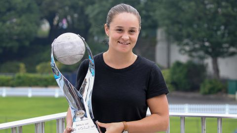 Ashleigh Barty took over as women's world No.1 this month.
