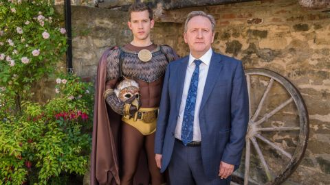 """<strong>""""Midsomer Murders Top 10 List""""</strong>: Homicide, blackmail, greed, and betrayal: that's just a taste of what goes on behind the well-trimmed hedges of Midsomer County in this deliciously sinister series. <strong>(Acorn TV)</strong>"""