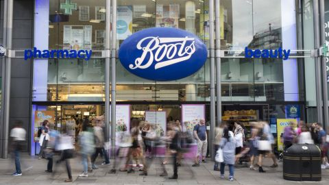 The stores closing are mainly within walking distance of another Boots location.