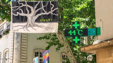 France recorded its highest ever temperature on Friday.