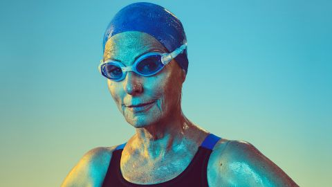 DeEtte Sauer, 77, was obese before she became an athlete. After her doctors said she was at risk for a heart attack, Sauer transformed her health and discovered her hidden talent for swimming. She's won numerous medals in the National Senior Games and was inducted into the Texas Senior Olympics Hall of Fame.